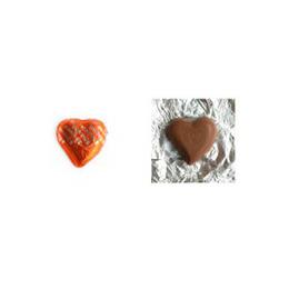 Röda chokladhjärtan med hasselnötscreme