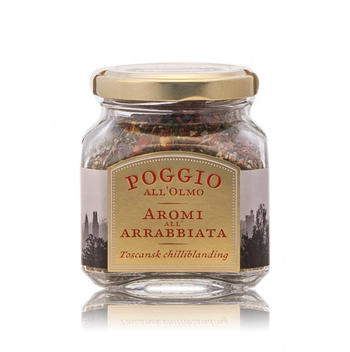 Poggio Aromi all Arrabbiata, chilliblandning - 100g